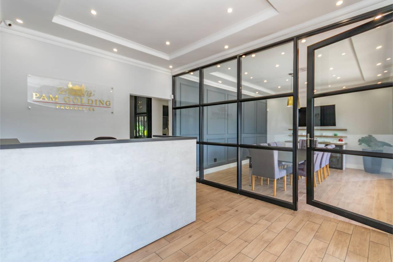 reception area - pam golding